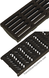 ABT transverse slotted ductile iron grate