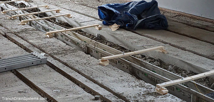Trench Drain Systems Polydrain